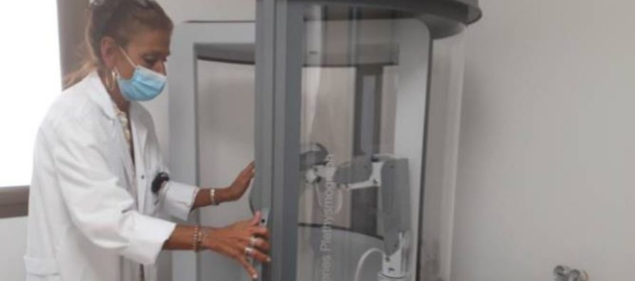 Quirónsalud Toledo adquiere una cabina de pletismografía de última generación