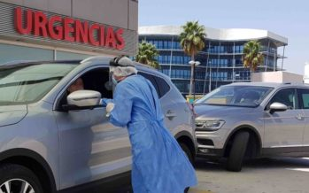 Covid-19: PCR sin bajarse del coche