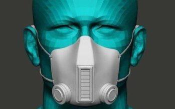 Mascarilla que elimina el coronavirus mientras se respira