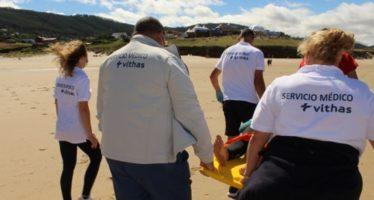 Vithas en la 33ª edición del Abanca Pantín Classic Galicia Pro de Surf