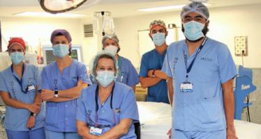 Extirpan parte del páncreas a una recién nacida con mínimas incisiones