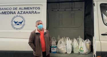 Quirónsalud Córdoba entrega al Banco de Alimentos los productos recogidos en su campaña de Navidad