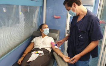 Madrid organiza un dispositivo especial de donación de sangre en la Real Casa de Correos