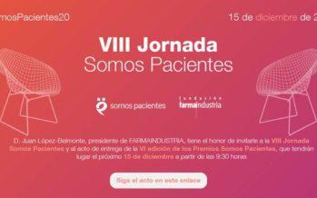 La Jornada Somos Pacientes 2020 se celebrará por primera vez en línea