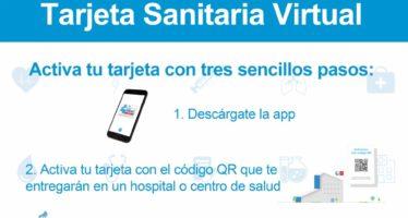 La Tarjeta Sanitaria Virtual de la Comunidad recoge la información sobre pruebas COVID
