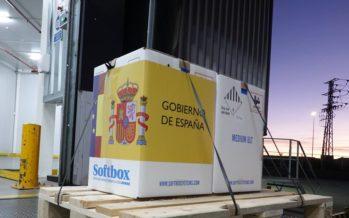 España recibe las más de 350.000 dosis de la vacuna frente al coronavirus