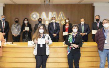 Fundación A.M.A. entrega el Vll Premio Nacional del Mutualista Solidario