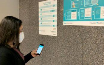 Quirónsalud Córdoba lanza un sistema digital que guía al paciente hasta su cita médica sin esperas