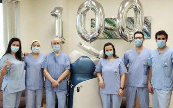 100 protesis de rodilla con Robot Mako