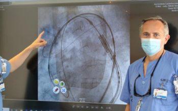 Cardiólogos utilizan un dispositivo para prevenir lesiones cerebrales en el Clínico San Carlos