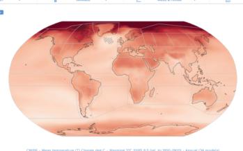 El CSIC participa en el VI informe del IPCC con un Atlas Interactivo con proyecciones climáticas regionales