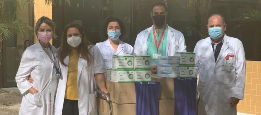 El Hospital de Torrevieja envía material sanitario a Cuba