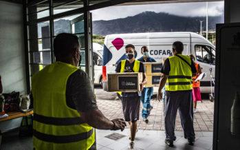 La Fundación Cofares dona 1.500 mascarillas FFP2 a Cáritas para ayudar a La Palma