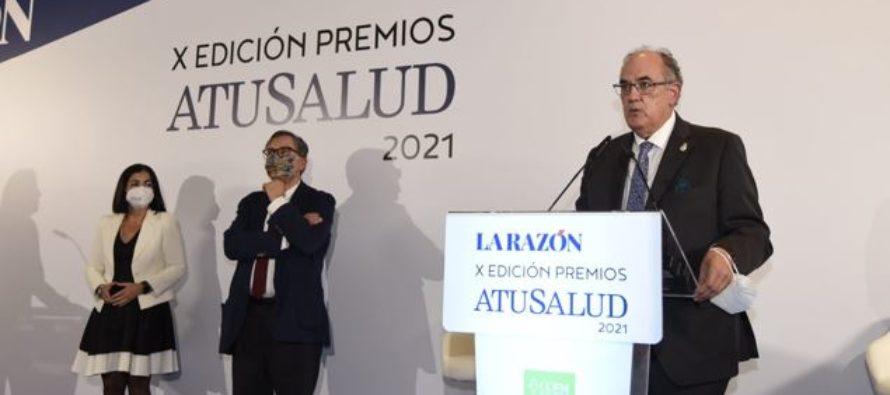 """A.M.A. recibe el Premio """"A tu Salud"""" por su apoyo a los sanitarios durante la pandemia"""