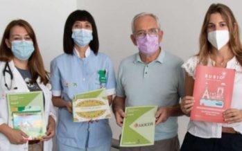 Cruz Roja dona material de entretenimiento para pacientes ingresados en el Hospital de Dénia